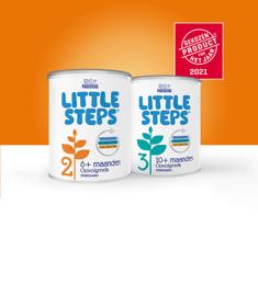 LITTLE STEPS® 2 of 3 opvolgmelk: van €9,99* voor €5,-