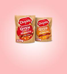 Duyvis® Oven Baked Peanuts: van €1,95* voor €0,98